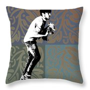 Wait For Us Throw Pillow by Fran Hogan