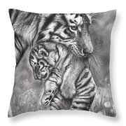 Wait 'til Your Father Gets Home Throw Pillow