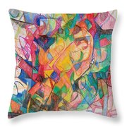 Waiting According To Intuition 1 Throw Pillow