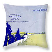 Waiting At The End Of The Road Throw Pillow