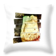 Waiting For Baby Throw Pillow