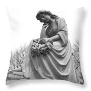 Waiting For Eternity Throw Pillow
