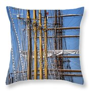 Waiting For Good Winds Throw Pillow