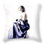 Waiting For Guidance Throw Pillow