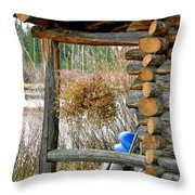 Waiting For Next Year Throw Pillow