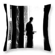 Waiting For Souls Throw Pillow