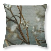 Waiting For Spring 1 Throw Pillow