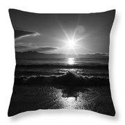 Waiting For Sunset  Throw Pillow