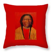 Waiting For The Ceremony Throw Pillow by Johanna Elik
