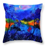 Waiting For The Fairy Queen Throw Pillow
