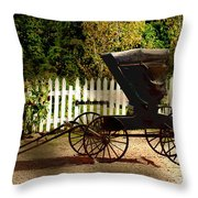 Waiting For The Mare Throw Pillow