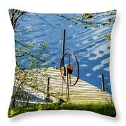 Waiting For The Return Throw Pillow