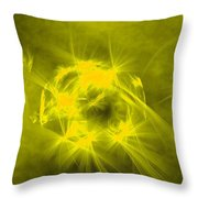 Waiting In Hope Throw Pillow