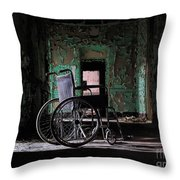 Waiting In The Light Throw Pillow