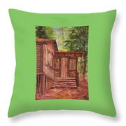 Waiting Throw Pillow