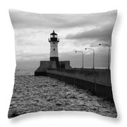 Waiting On Gales Throw Pillow