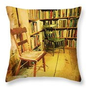 Waiting Room Throw Pillow