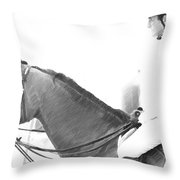 Waiting To Jump Throw Pillow