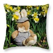 Wake Up It's Springtime Throw Pillow