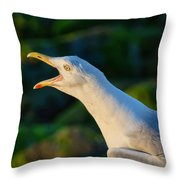 Wakey Wakey Throw Pillow
