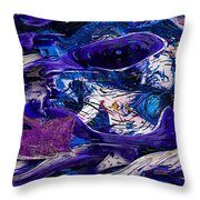 Waking In A Dream Throw Pillow by Jack Zulli