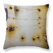 Waking Rust Throw Pillow
