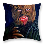 Waldemar Daninsky Throw Pillow