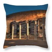 Wales Millennium Centre Throw Pillow