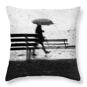 Walk Continued  Throw Pillow