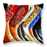 Walk In Style Throw Pillow by Camille Lopez