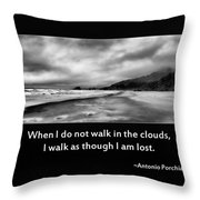 Walk In The Clouds Throw Pillow