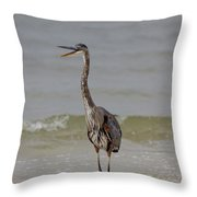 Walk The Talk Throw Pillow