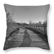 Walk This Way... Throw Pillow
