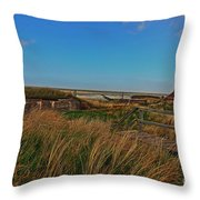 Walk To Wall Throw Pillow