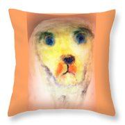 walk the walk with me or I will be staring at you forever  Throw Pillow