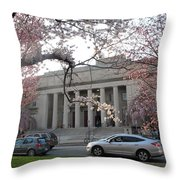 Walker Memorial Early Spring Throw Pillow