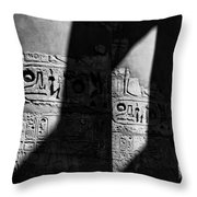 Walking In The Steps Of The Gods.. Throw Pillow