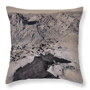 Walking On The Moon Throw Pillow by Laurie Search