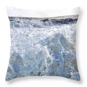 Walking On Water I Throw Pillow by Kevyn Bashore