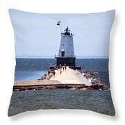 Walking Out Throw Pillow