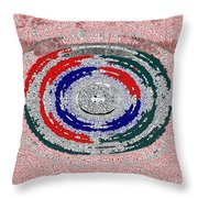 Walking The Streets Of Life Throw Pillow