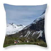 Walking Toward The Sky Throw Pillow