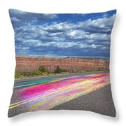 Walking With God Throw Pillow