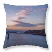 Walkway Over The Hudson Dawn Throw Pillow
