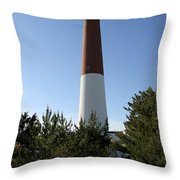 Walkway To Barnegat Light Throw Pillow