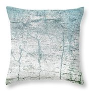 Wall Abstract 10 Throw Pillow