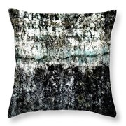Wall Abstract 12  Throw Pillow