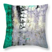 Wall Abstract 20 Throw Pillow