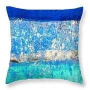 Wall Abstract 23 Throw Pillow