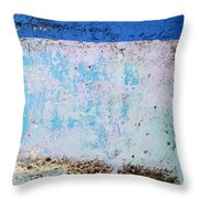 Wall Abstract 25 Throw Pillow